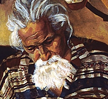 Music maker, painting, 2005