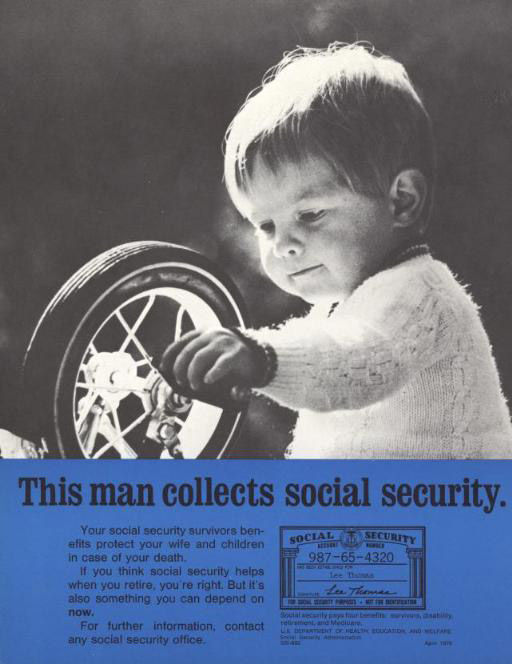This  Poster Powerfully Makes The Point That Social Security
